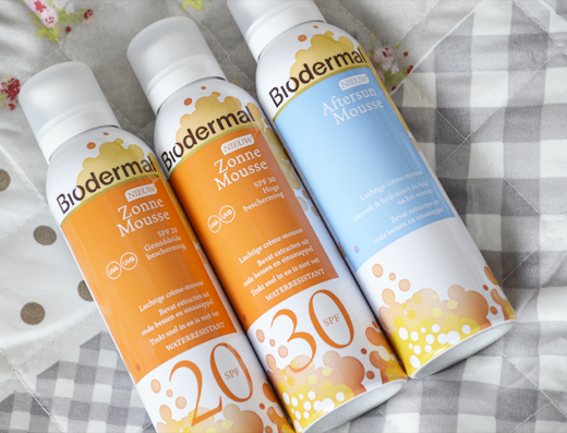Biodermal Zonne Mousse & Aftersun Mousse