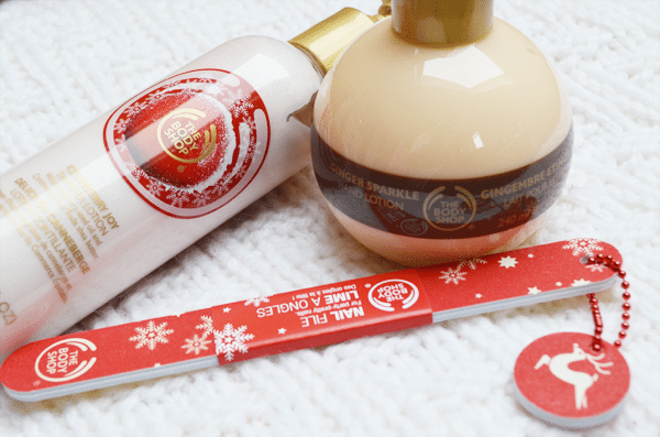 The Body Shop: Kerst Verzorging