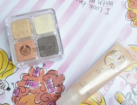 TBS Shimmer Cube Spring Bronze & Lip Gloss Vanilla