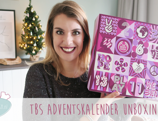 Adventskalender unboxing week #1: The Body Shop
