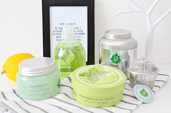 The Body Shop Fuji Green Tea & Virgin Mojito