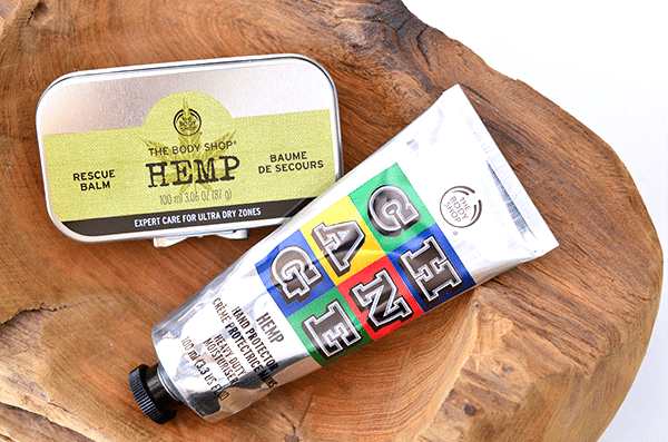 The Body Shop Change Hemp Balm & Crème