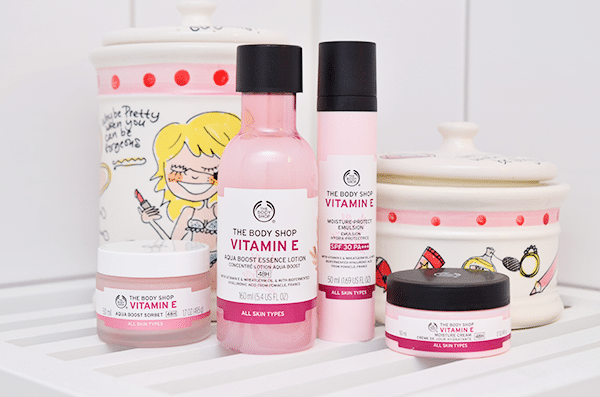 The Body Shop Nieuwe Vitamine E Producten