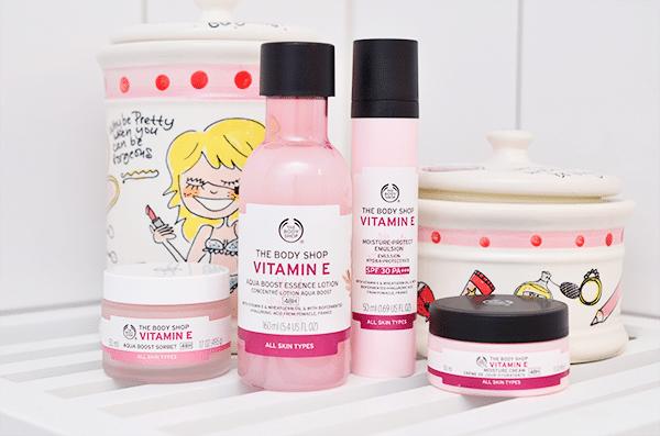 The Body Shop Nieuwe Vitamine E Producten