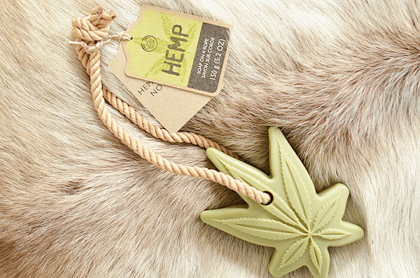 The Body Shop Hemp Soap On A Rope