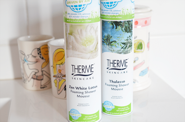 THERME Foaming Shower Mousse zonder drijfgas