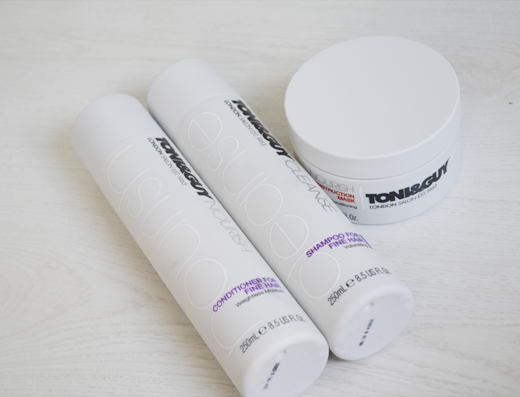 Toni & Guy Cleanse en Nourisch producten