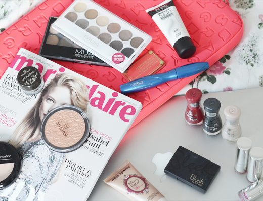 Top 10 make-up producten onder de 10 euro