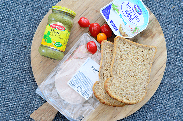 Gezonde lunch: Tosti met Cottage Cheese