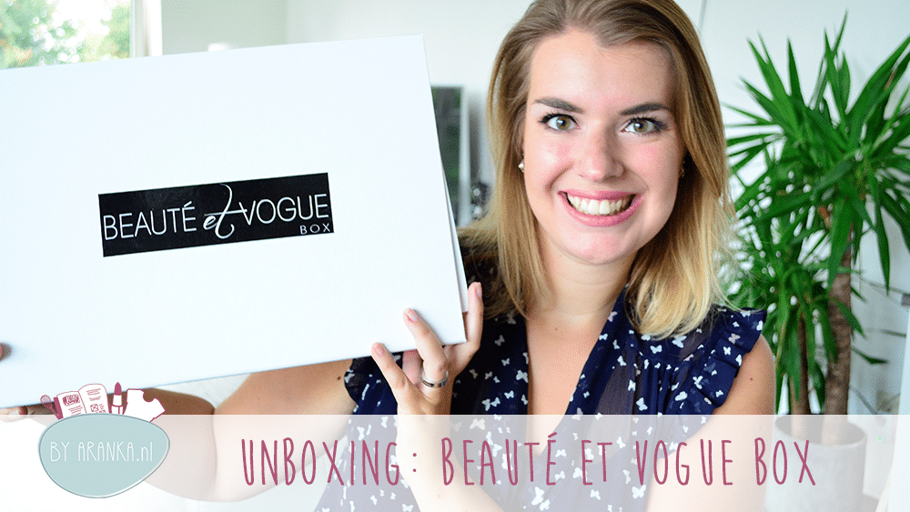 Unboxing: Beauté et Vogue Herfst Box