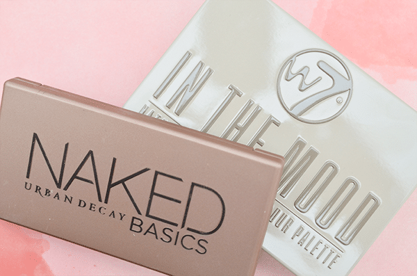 Urban Decay Naked Basics vs. W7 In The Mood