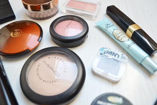 Make-up, driekwart blijft liggen.