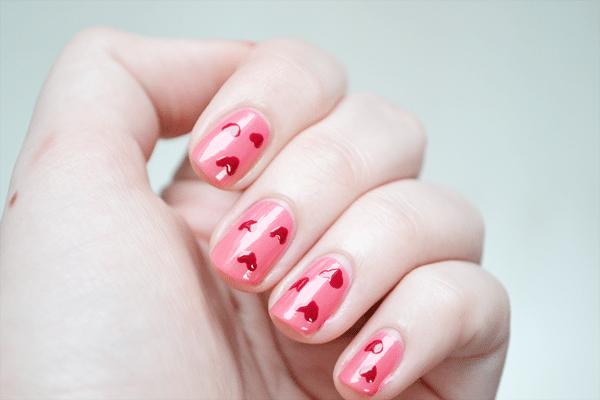 Valentijns nailart