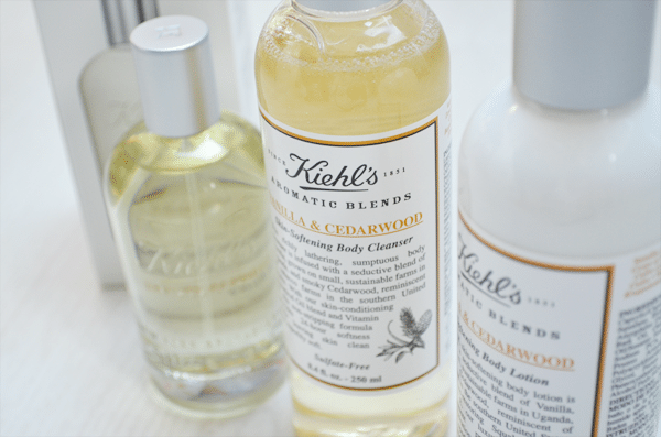 Kiehl's Aromatic Blends Vanilla & Cedarwood