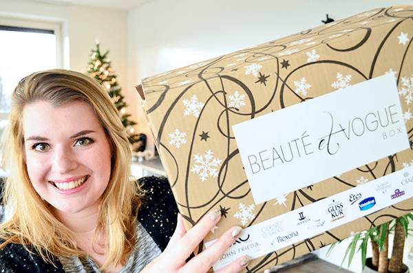 Unboxing: Beauté et Vogue Winter Box