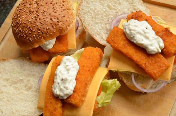 Lunch tip: Visstick broodjes