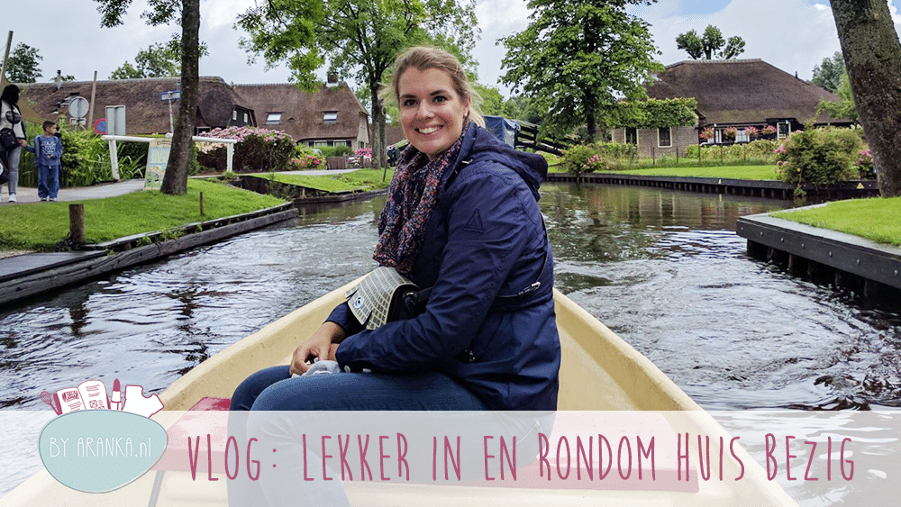Weekvlog: Lekker in en rondom huis bezig