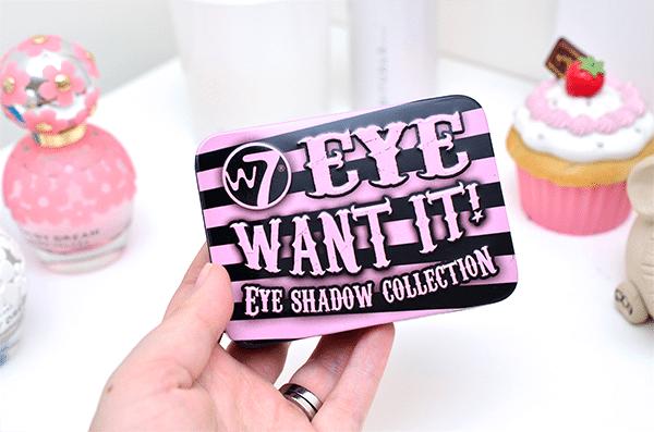 W7 Eye Want It! Eye Shadow Collection