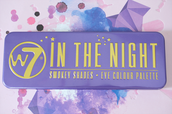 W7 In The Night Palette