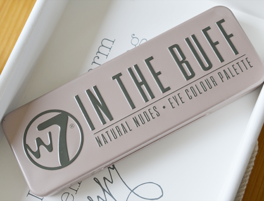 W7 In The Buff Natural Nudes Eye Colour Palette