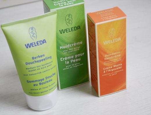 Nieuwe Weleda producten