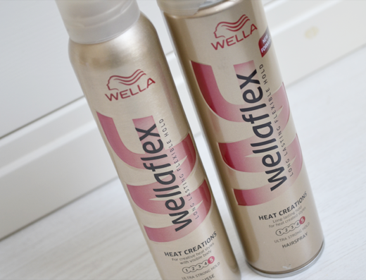Wella Heat Creations Mousse & Hairspray