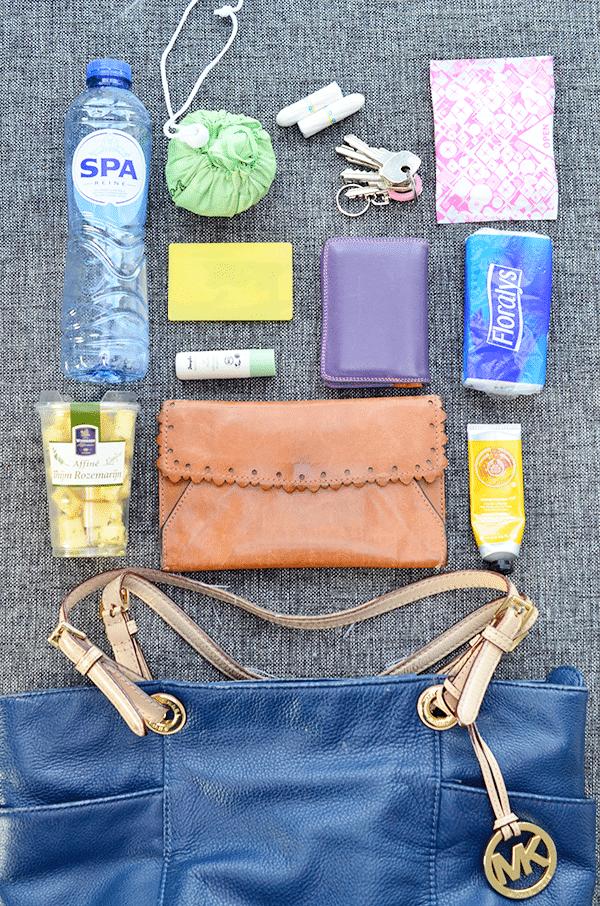 Wat zit er in mijn tas voor een dagje weg?