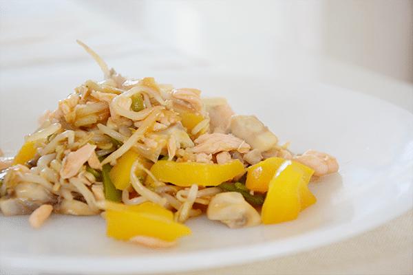 Wokschotel met tonijn4