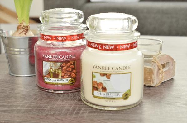 Nieuwe Yankee Candle geuren: Shea Butter & Moroccan Argan Oil