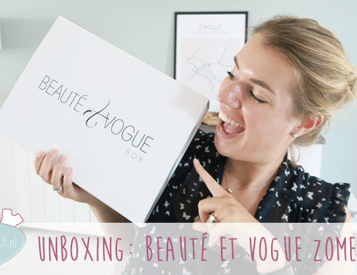 Unboxing: Beauté Et Vogue Zomer Box