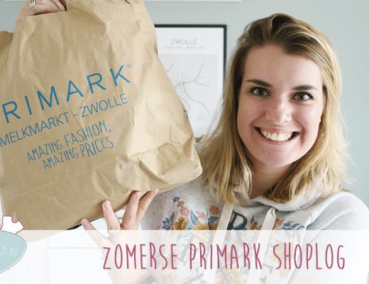 Zomerse Primark Shoplog