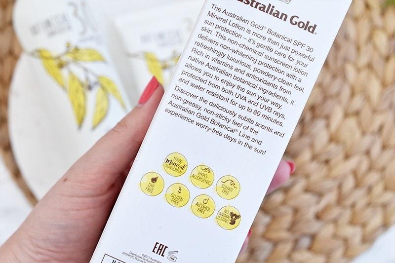 Australian Gold Botanical zonnebrand