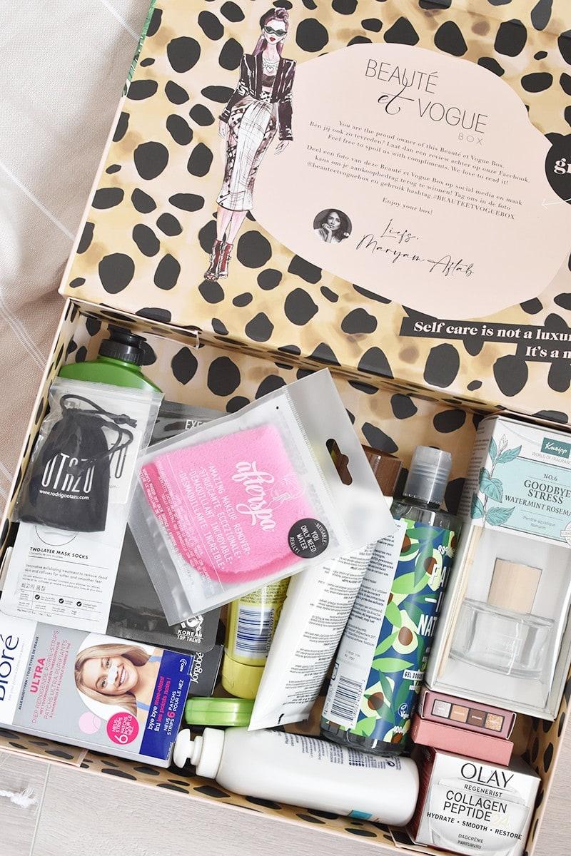 Unboxing: Beauté et Vogue Sping Box 2021