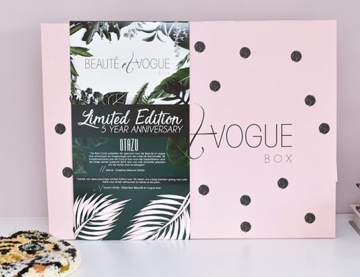 Unboxing: Beauté et Vogue Summer Box