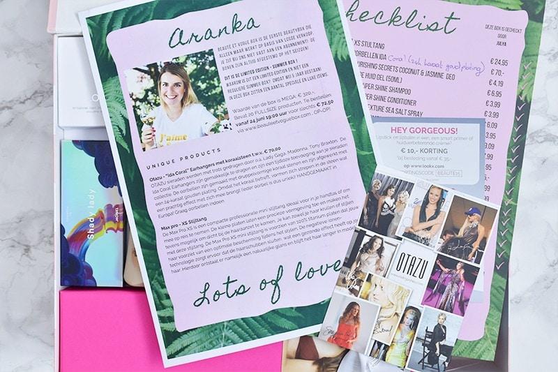 Unboxing: Beauté et Vogue Summer Box