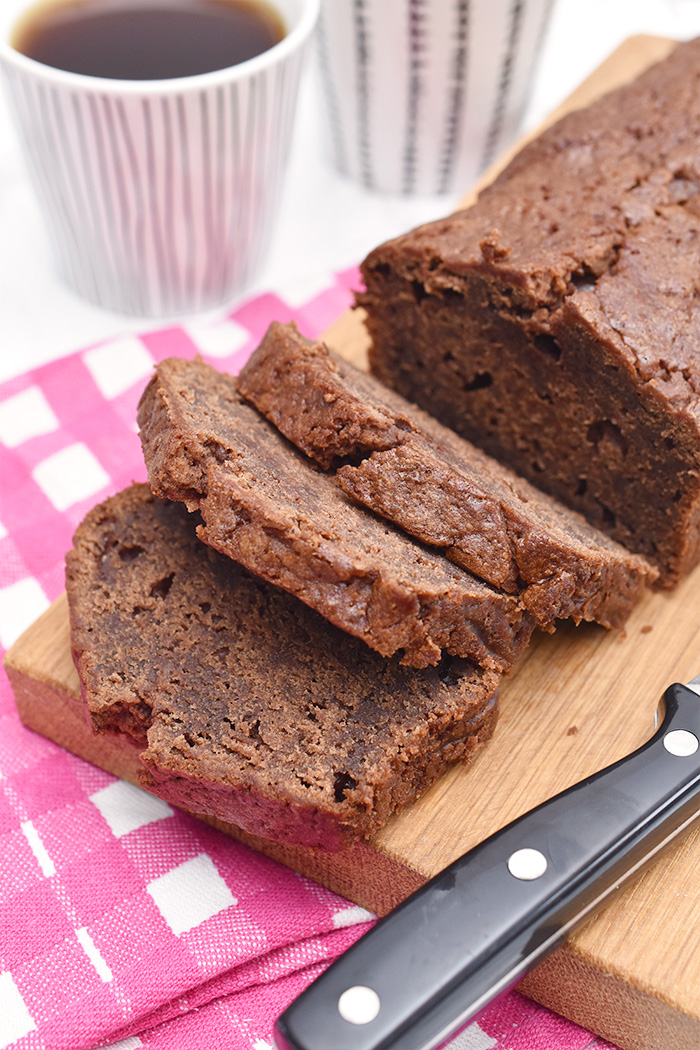 Recept: Chocolade banaan cake