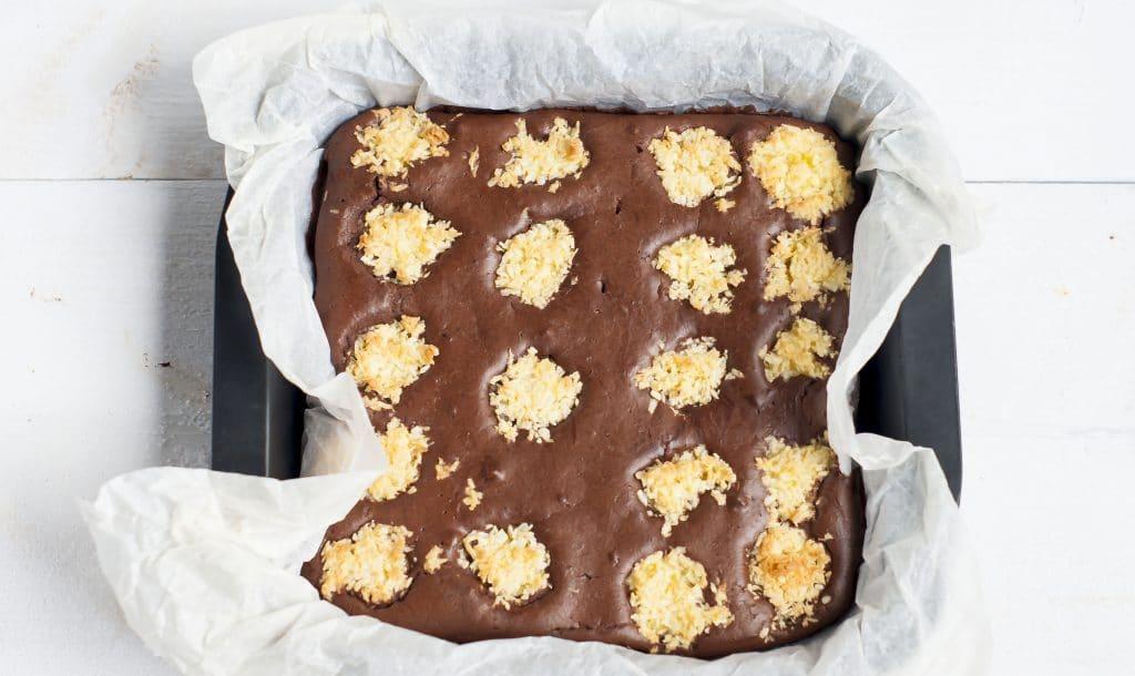Recept: Chocolade Kokoscake (van de Albert Heijn)