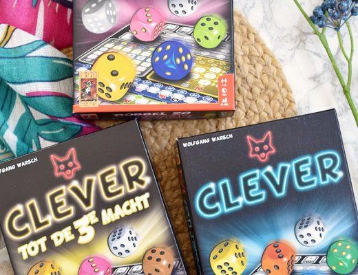 Speltip: Clever, Dubbel Zo Clever & Clever tot de 3e macht