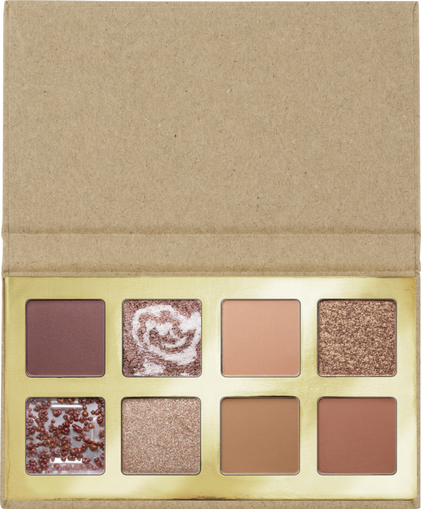 essence Coffee to glow eyeshadow palette 01 Image Front View Full Open png