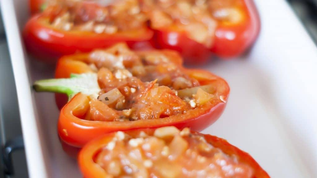 Recept: Gevulde Paprika Caprese