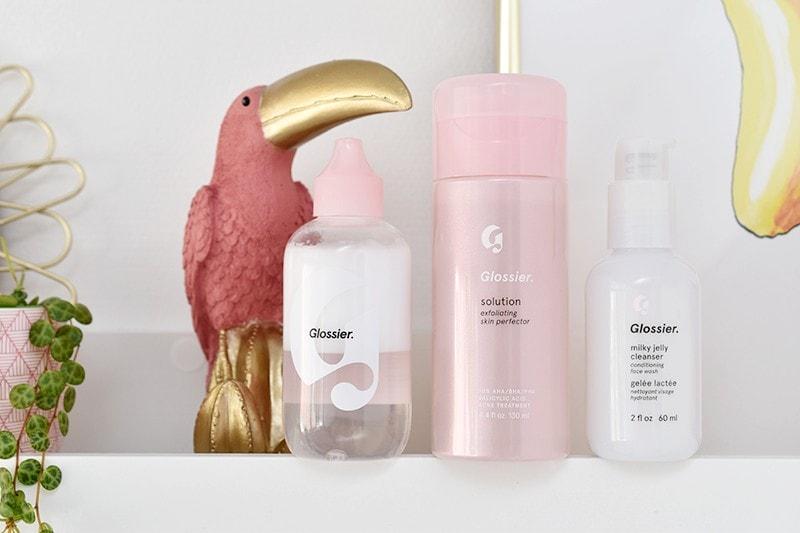 Glossier Solution, Milky Oil Milky Jelly Cleanser