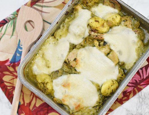 Recept: Gnocchi ovenschotel met kip pesto