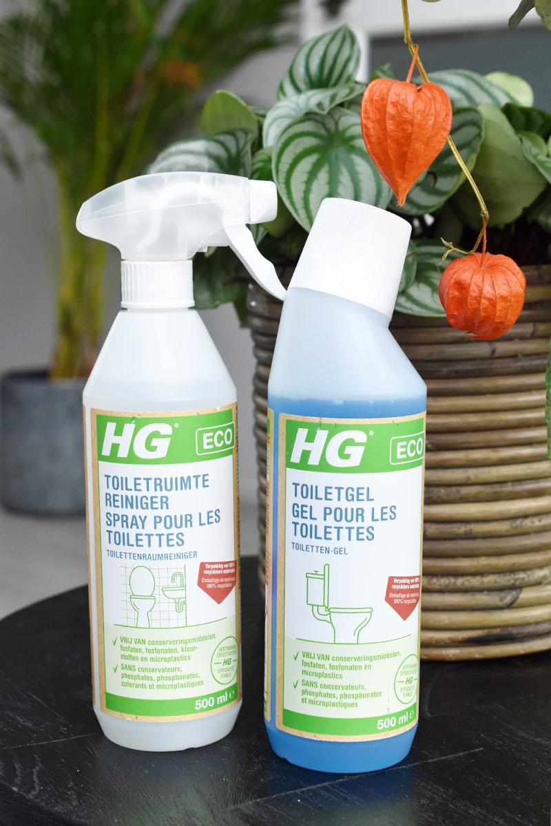 HG ECO duurzaam en milieubewuste schoonmaakmiddelen