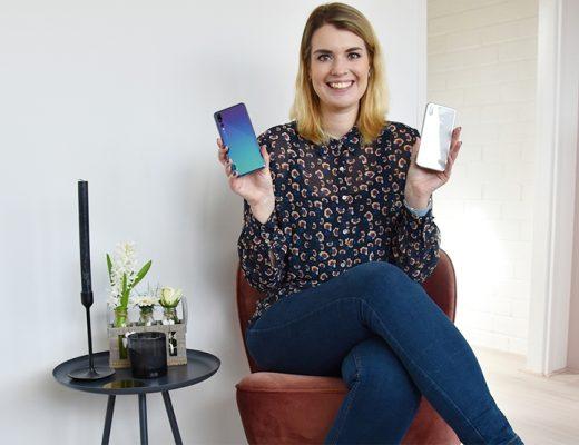 Welke telefoon gebruik ik nu? De Huawei P20 Pro of de iPhone X?