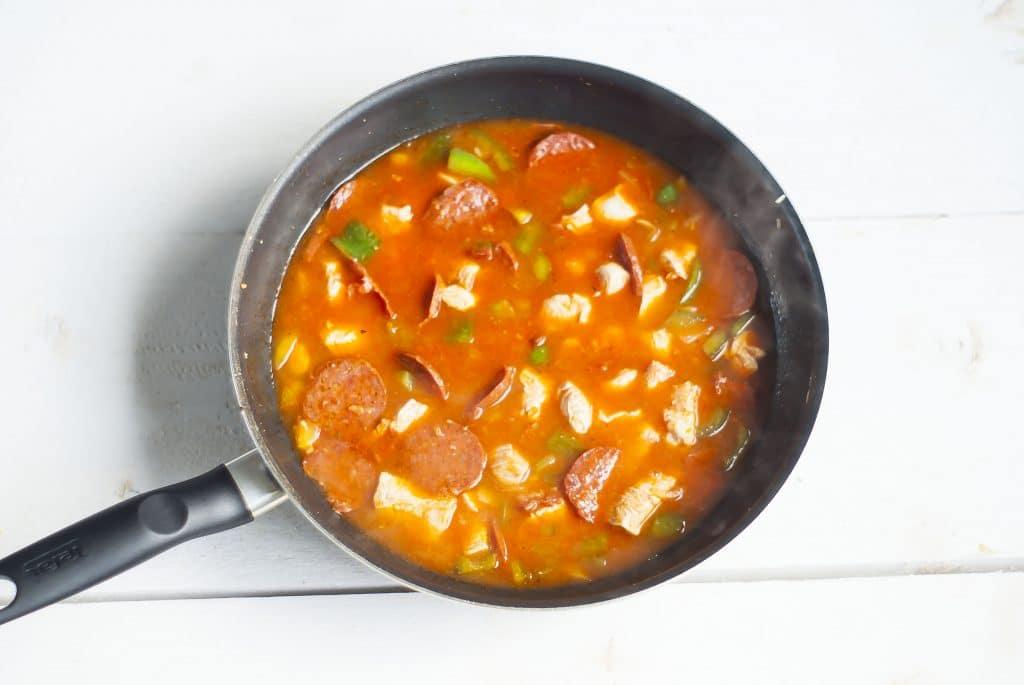 Recept: Kip Jambalaya