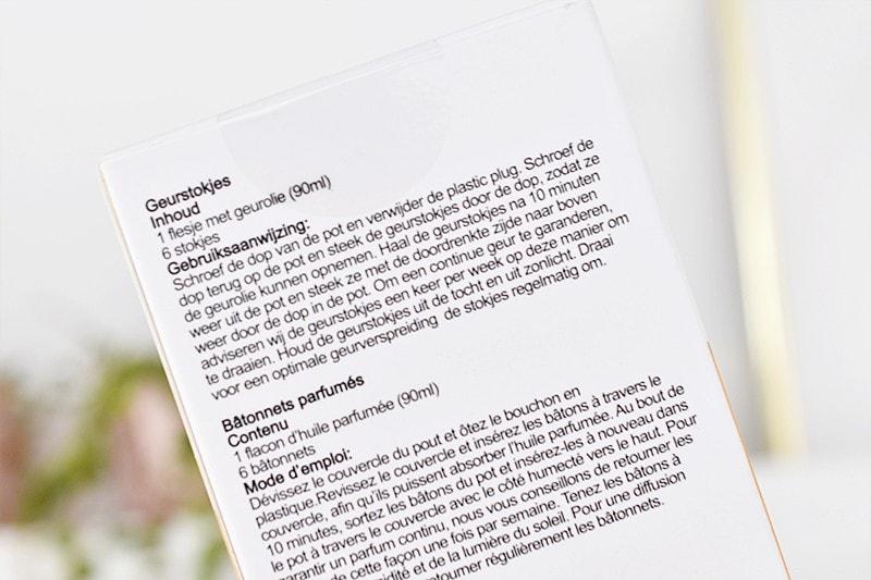 Kruidvat Orange Blossom & Vanilla Geurstokjes