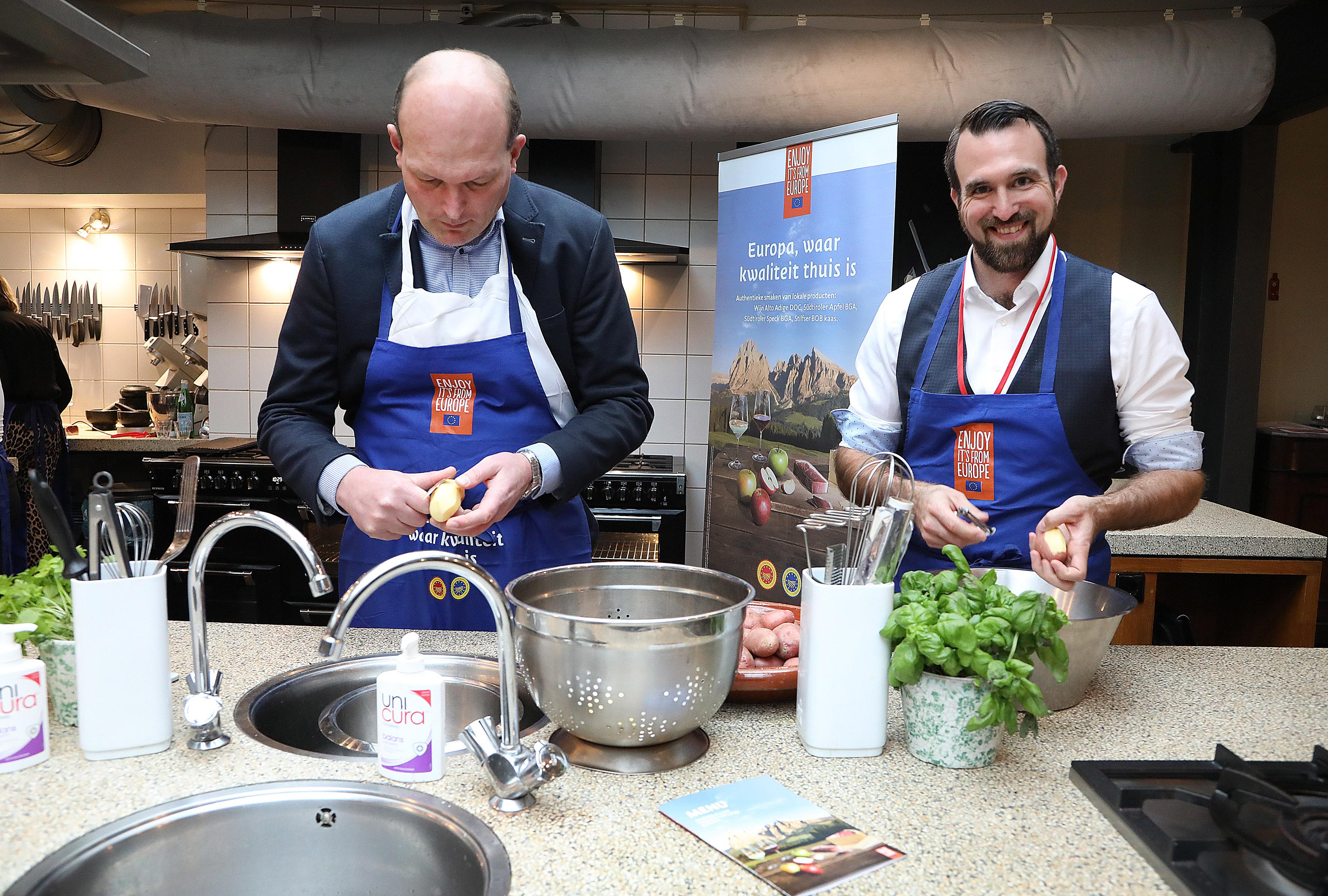 Kookworkshop met heerlijke Zuid-Tiroolse producten