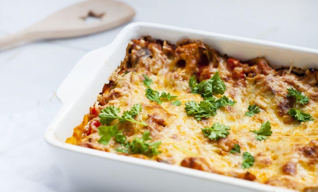 Recept: Lasagne met kipgehakt