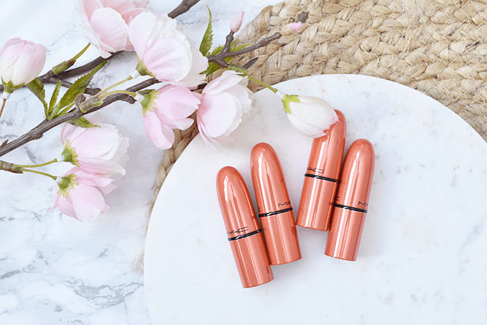 MAC Shiny Pretty Things Party Favours Mini Lipsticks Nudes