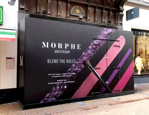 MORPHE krijgt een winkel in Nederland!
